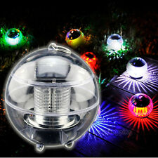 Solar LED Waterproof Color-Changing Floating Ball Pool Pond Garden Lights Lamps