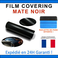 200 x 152cm Mate 3D Noir Film Vinyle Sticker Covering THERMOFORMABLE DISCOUNT