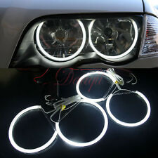 4X KIT Angel Eyes Halo Lampe LED Sans Erreur Pr BMW E46 3 Series HG