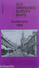 OLD ORDNANCE SURVEY DETAILED MAP DUNFERMLINE FIFE SCOTLAND 1895   S39.05 NEW