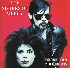 RARE THE SISTERS OF MERCY Live at PC69 Bielefeld 21st April 1985 CD