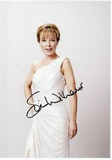 SIAN WILLIAMS - Signed 12x8 Photograph - TV NEWS PRESENTER