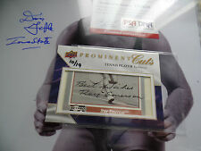 Roy Emerson /19 Auto 2009 Upper Deck Prominent Cuts autograph signed PSA/DNA