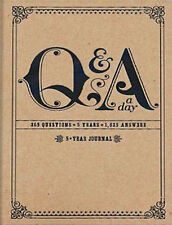 Q and A a Day : 5-year Journal by Potter Style Book | NEW Free Post AU