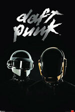 DAFT PUNK POSTER LAMINATED - RANDOM ACCESS MEMORIES 'NEW 61X91CM' ALBUM COVER