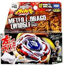 TAKARA TOMY BEYBLADE METAL FUSION BB-88 Meteo L Drago+Bey String Launcher L SPIN