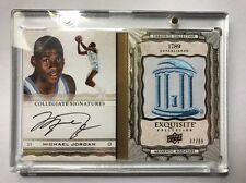 2012-2013 Exquisite Collection Michael Jordan ON CARD AUTO BOOKLET /99