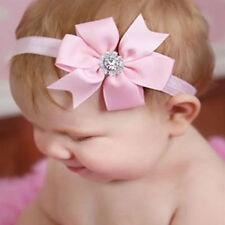1pcs Toddler Kid Baby Girls Pink Headband Bow Flower Princess Hair Band Headwear