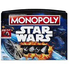 STAR WARS MONOPOLY 2016 EDITION HASBRO GAMING FAMILY FUN BOARD GAME BRAND NEW
