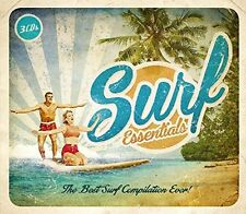 SURF ESSENTIALS-TRILOGY 3 CD BOX-SET NEW+ THE SHADOWS/DUANE EDDY/THE OUTLAWS