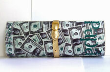 Magazine Clutch Paparazzi American US Dollar Notes Bag RELOCATION SALE RRP £48