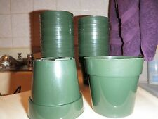 """3""""Round Standard Plastic Pots ~ great for Cacti & Succulents ~ Qty 25"""