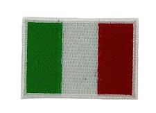 Flag patch italia italy italian backpack embroidered iron on emblem small