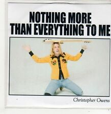 (FJ619) Christopher Owens, Nothing More Than Everything To Me - 2014 DJ CD