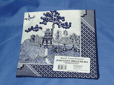 Johnson Brothers BLUE WILLOW~COTTON NAPKIN ~ NEW~ Made in USA