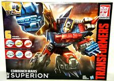SUPERION AERIALBOTS Transformers Combiner Wars Generation 2 Boxed Set OF 6