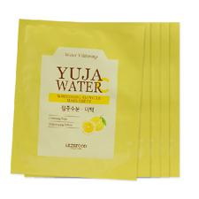 [SKINFOOD_SP] Yuja Water Whitening Ampoule Mask Sheet Samples 5pcs