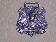 Vintage / Antique Watch Fob Boy Scout Scout w/ Bugle and Rifle BSA