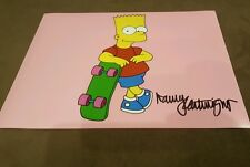 Nancy Cartwright Signed 8x10 Photo The Simpsons Bart Simpson #2 COA