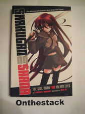 Shakugan no Shana Novel: The Girl with Fire in Her Eyes by Yashichiro Takahashi