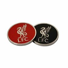 Liverpool Football Club Crest Double Sided Golf Ball Marker LB with Free UK P&P