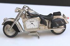 FOSSIL Brand Limited Edition Collectors Motorcycle Desk Clock Time Piece