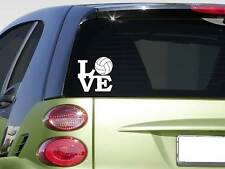 "Volleyball love 6"" sticker *F267* decal car decal spike net shoes shorts"