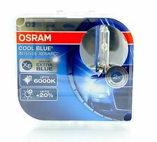 Osram D2S Cool Blue INTENSE Xenon Brenner 6000K 2 Stk 66240CBI +NEW Version+