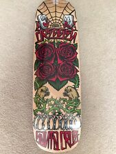 Eric Dressen Santa Cruz Skateboard Deck Cruiser Board Roses Re Issue Nos 8.75