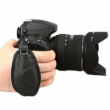 Leather Hand Grip Strap For Nikon D5000 D5100 D7000 D90 Useful Accessories BT