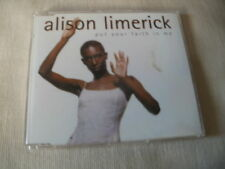 ALISON LIMERICK - PUT YOUR FAITH IN ME - 7 MIX UK CD SINGLE