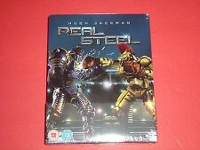 Real Steel Hugh Jackman Blu-Ray Zavvi Limited to 2,000 Copies Steelbook Edition