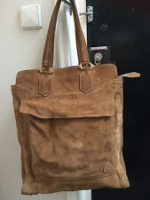 BURBERRY Large Vintage Suede Shopper/Bag.