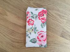 Handmade Glasses Sunglasses Zipped Case Pouch - Cath Kidston Rainbow Rose Fabric
