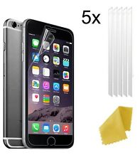 5 X Clear Plastic Screen Guard LCD Protector Film For New Apple iPhone 7 Plus