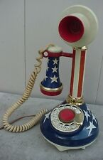 VINTAGE WESTERN ELECTRIC CANDLE STICK TELEPHONE