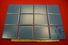 Vintage… NOS…Deep Blue…4-3/8 inch wide…matte finish...ceramic tile by Mosaic Co.