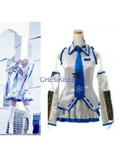 Hatsune Miku Snow Ice Sliver and Blue Cosplay Costume from VOCALOID