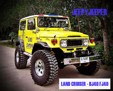 OFF-ROAD 4x4 Fender Flares Wheel Arches TOYOTA LAND CRUISER FJ40 BJ40 40 Series
