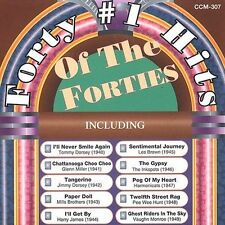 1 CENT 2CD Forty Number One Hits of the Forties- V/A BIG BAND/JAZZ/DORSEY/MILLER
