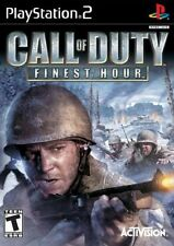 Call Of Duty Finest Hour PS2 Playstation 2 Complete Game