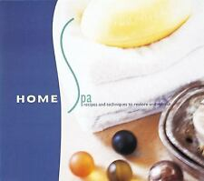 Home Spa : Recipes and Techniques to Restore and Refresh by Manine R. Golden...