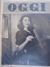 OGGI n°3 1950 Corinne Luchaire Caterina Fort Anthony Edgar Sale  [GS27]