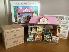 Sylvanian Families Very Rare Japanese Miniature House Shop Boxed