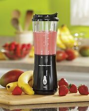 NEW Hamilton Beach Personal BLENDER w/ Travel LID Single Serve Smoothie Shake