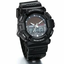 Military Digital Analog Men Sport Watches LCD Date Army Alarm Quartz Wrist Watch