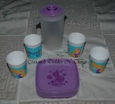 TUPPERWARE DISNEY PRINCESS TANGLED KIDS PARTY TEA SET