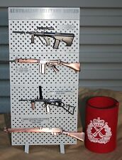 1/6 SCALE AUSSIE RIFLE SET WITH RACK -  MODEL SET, DIGGER, RIFLES