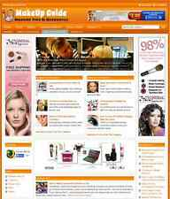MAKE UP & BEAUTY GUIDE WEBSITE BUSINESS FOR SALE - Free Installation Provided