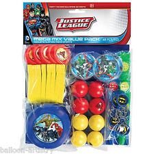 48 PEZZI DC Comics Justice League Children's Party MEGA MIX favore VALUE PACK